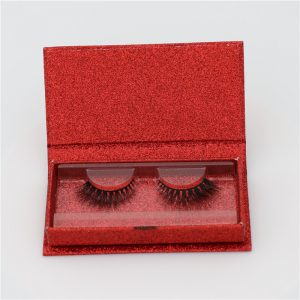 Private Label Mink Eyelashes With Glitter Box