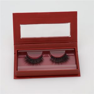 private label mink eyelashes with custom box