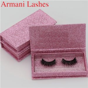 3d mink lashes and custom package