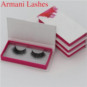 mink lashes box Wholesale 3D Silk Lashes