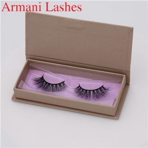 faux mink lashes custom box