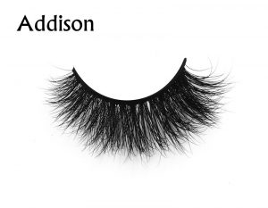 Addison (1) 3d mink eyelashes private label silk lashes