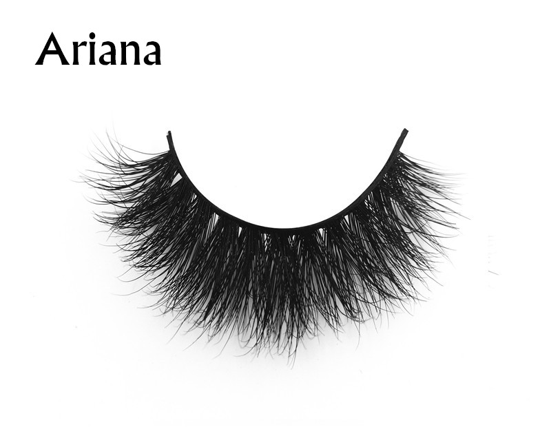 Ariana (1) 3d mink eyelashes private label silk lashes