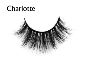 Charlotte (1)mink eyelashes private label silk lashes